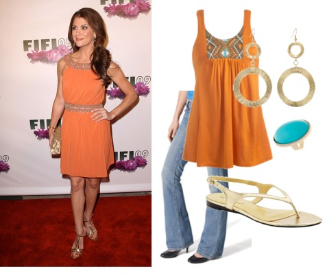 dress it down orange
